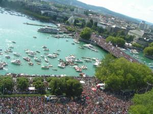 Street Parade Schweiz Zürich Bellevue